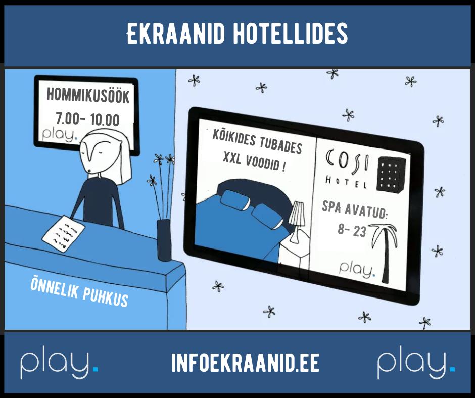Infoekraanid hotellides