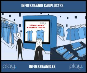 Infoekraanid kauplustes