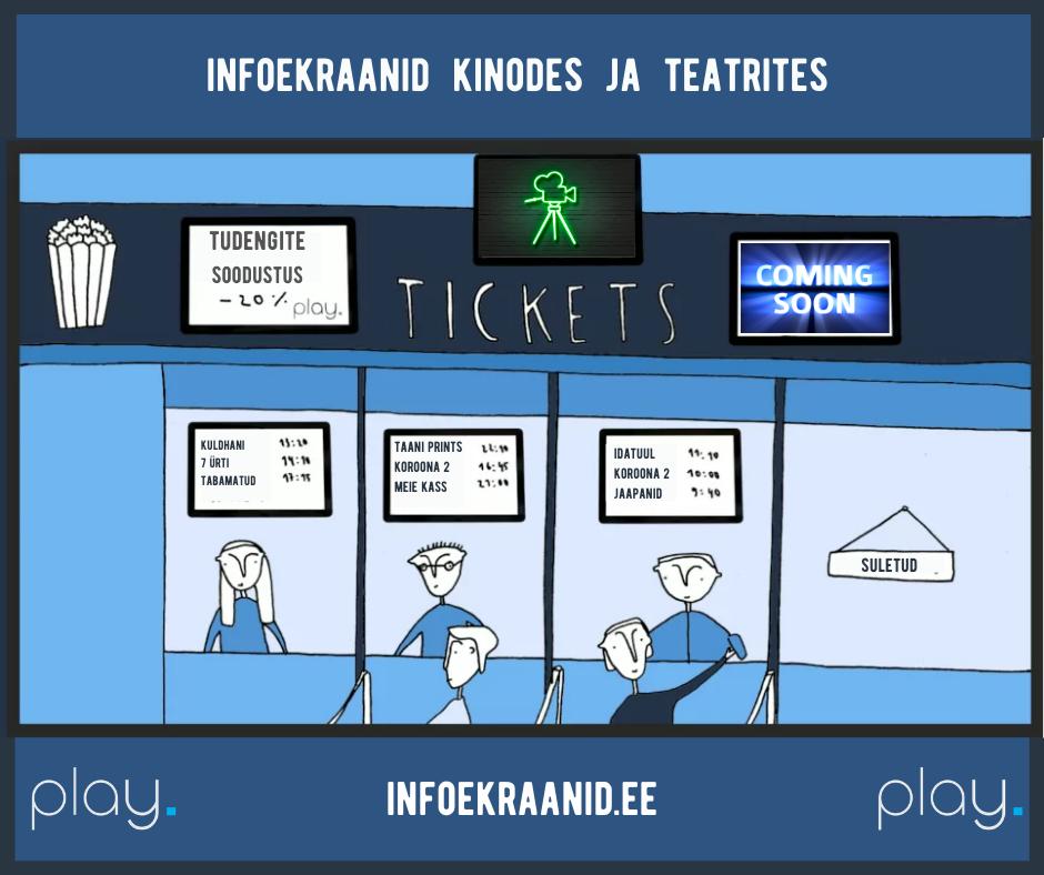 Infoekraanid kinodes