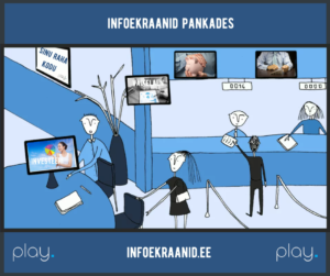 Infoekraanid pankades