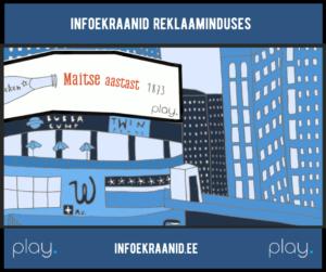 Reklaam infoekraanidel
